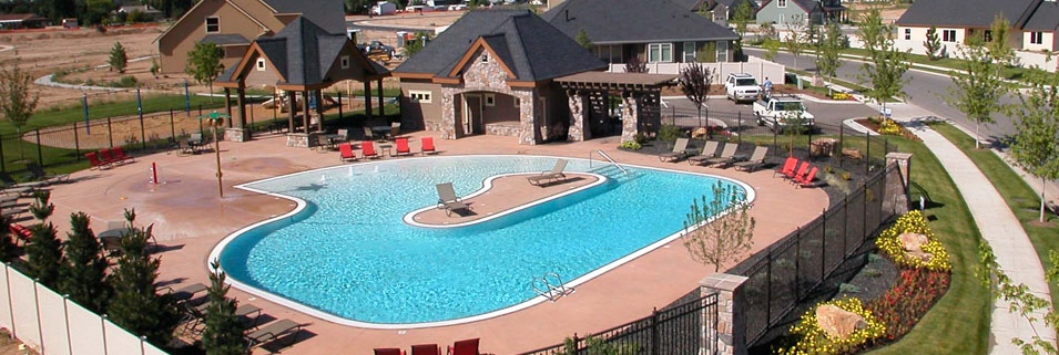 Pool Designs With Spa swimming pool, pool design, pool construction, pool spa boise idaho