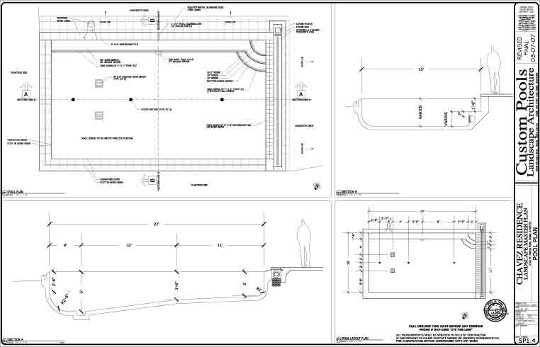Swimming pool pool design pool construction pool spa for Pool design program