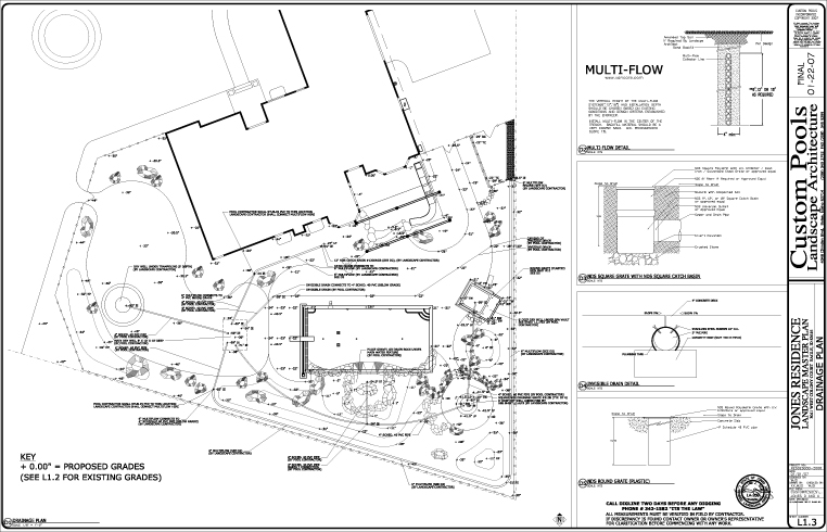 Architectural Plan For Residential Building >> Swimming Pool, Pool Design, Pool Construction, Pool Spa Boise Idaho